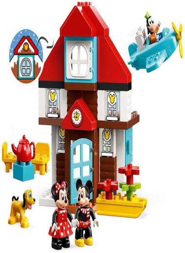 Lego LEGO Duplo Mickeynin Tatil Evi Renkli